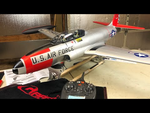 Freewing T-33 Shooting Star UNBOXING AND ASSEMBLY review USAF 80mm EDF Jet - UCLqx43LM26ksQ_THrEZ7AcQ