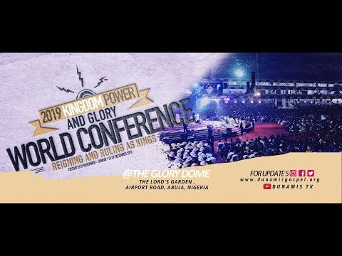 FROM THE GLORY DOME: POWER COMMUNION SERVICE - 30:10:2019