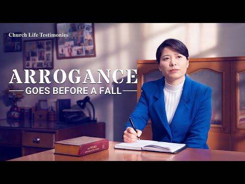 2020 Christian Testimony Video  Arrogance Goes Before a Fall