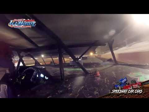 #12 Brandon Crosby - 602 Crate Late Model - Ice Bowl 2021 - Talladega Short Track - In-Car Camera - dirt track racing video image