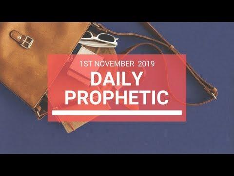 Daily Prophetic 1 November 2019 Word 6