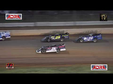 ADRA Super Late Model $20,000 @ Carolina Sizzler July 18, 2021 - dirt track racing video image