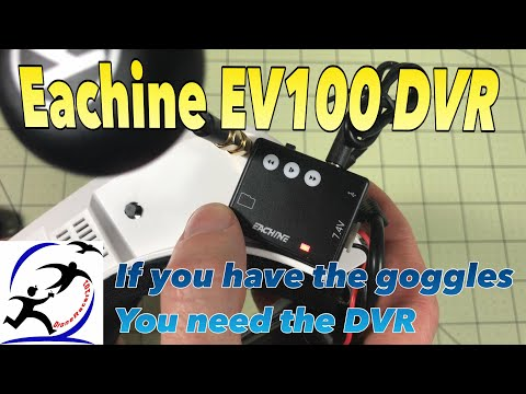 Eachine EV100 DVR Module!  It actually works, it works really well. - UCzuKp01-3GrlkohHo664aoA