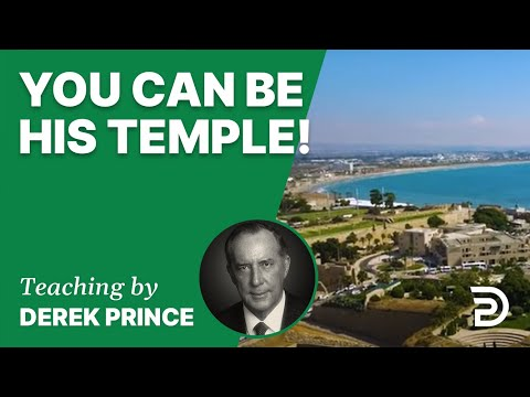 You Can Be His Temple!