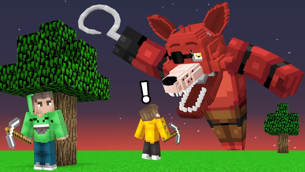 DO NOT Play Speedrunner VS Hunters in FIVE NIGHTS AT FREDDY'S! (Minecraft)