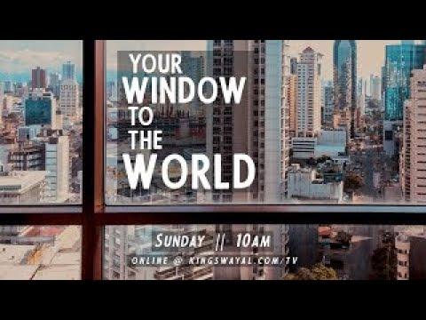 This Sunday: Your Window to the World