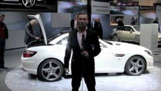 World Premiere of the new Mercedes-Benz SLK