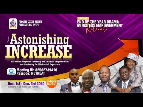 DRAMA MINISTERS EMPOWERMENT RETREAT DECEMBER 2020 -