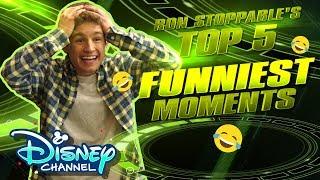 Ron's Top 5 Funniest Moments 🤣| Kim Hushable | Disney Channel Original Movie