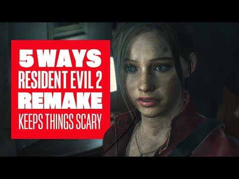 5 Ways Resident Evil 2 Remake Keeps Things Scary - Resident Evil 2 Remake Ada Claire Leon Gameplay - UCciKycgzURdymx-GRSY2_dA