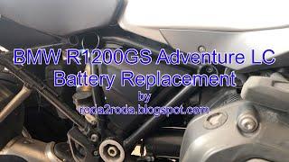 Sostituzione batteria BMW R1200Gs