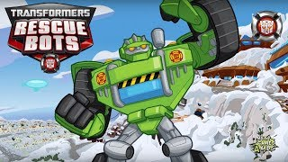 Transformers Rescue Bots: Hero Adventures #251 | BOULDER: Construction-Bot, Avalanches Mission!