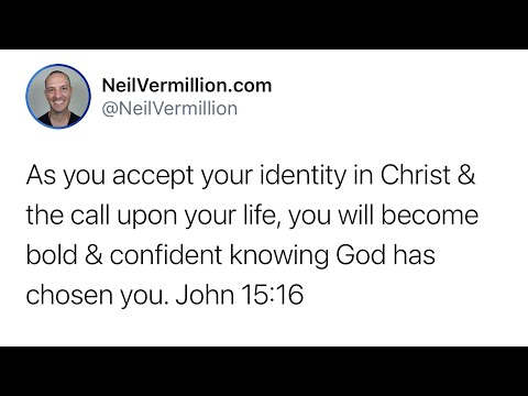 Accepting Your Identity And Your Mission - Daily Prophetic Word