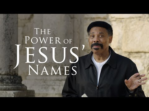 The Power of Jesus Names  Bible Study with Tony Evans