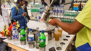 Masala Lemon Soda | KULUKKI SARBATH Amazing Soda Making Skills | Nimbu Pani |  Indian Street Food