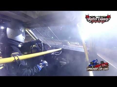 #51 Levi Felton - 4 Cylinder - 8-27-2021 Dallas County Speedway - In Car Camera - dirt track racing video image