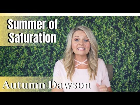 PROPHETIC WORD Summer Of Saturation - Autumn Dawson