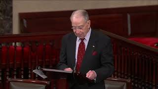 🔴 Grassley on Double Standard in Investigations