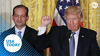 Labor Secretary Alexander Acosta resigns | USA TODAY