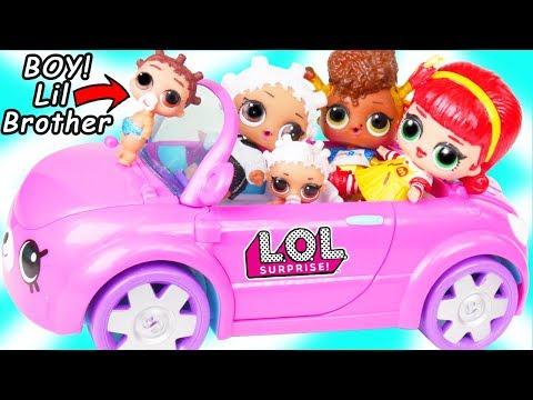 LOL Surprise Doll Fresh Gets New Cutie Cars Car Toy + Custom Lil Brother Punk Boi Boy, Toys R Us - UCcUYGJmWfnkIyE36wss_nAw
