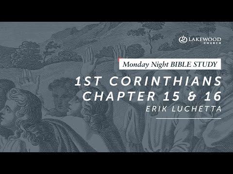 Raised to Life Part 2 (1 Corinthians 15 & 16)  Erik Luchetta (2019)