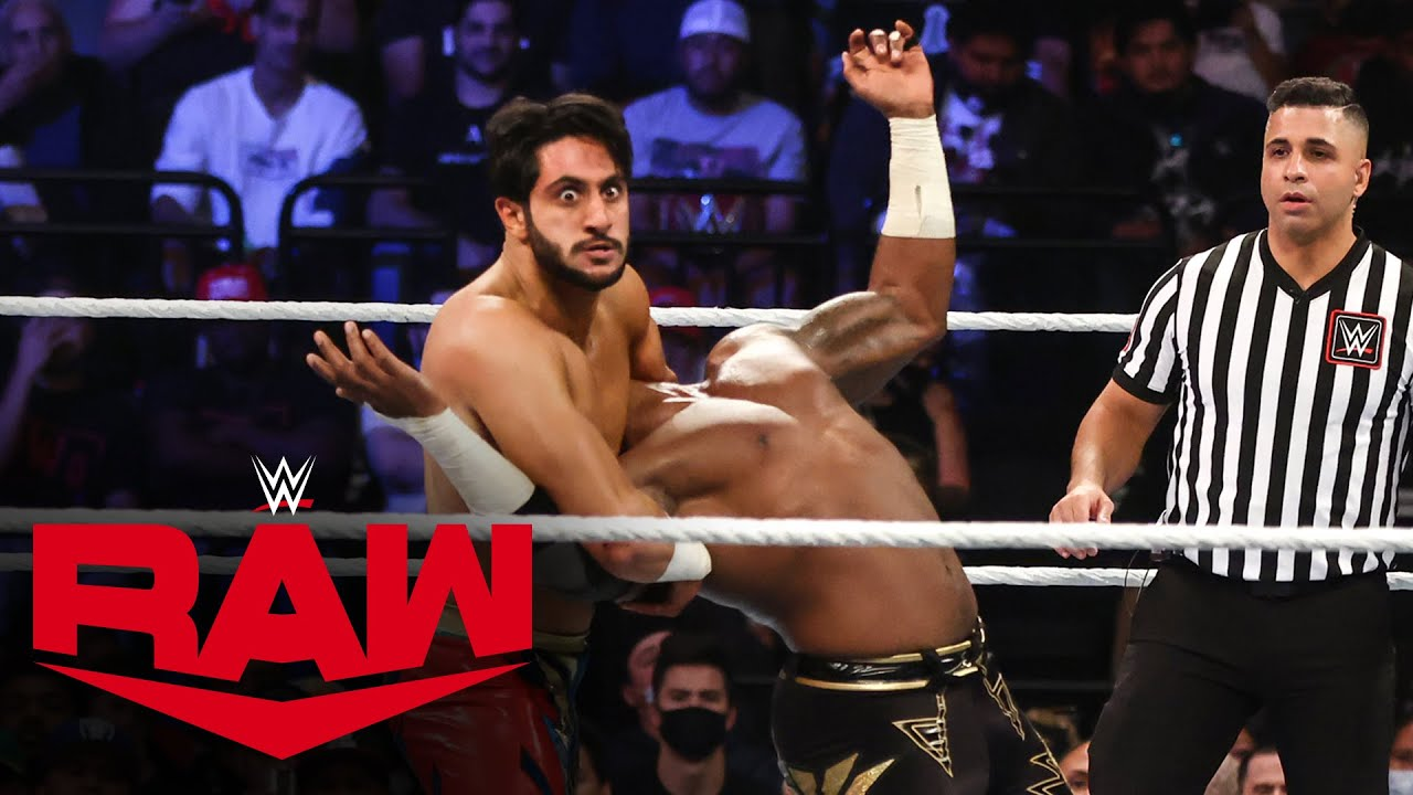 Mansoor vs. Cedric Alexander: Raw, Oct. 18, 2021