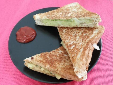 Masala toast sandwich without Toast Maker-Indian healthy Snacks,veg sandwich toast