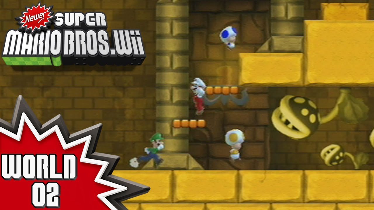 newer super mario bros wii world 1