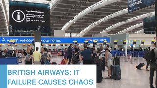 Hundreds of passengers stranded as BA suffers another IT failure | 5 News