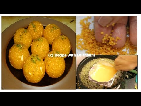Motichoor Ladoo | Motichoor Ladoo recipe | with DIY utensils | Motichur Laddu Recipe - UCrPdi5n5TsvyetOd5pAUH9w