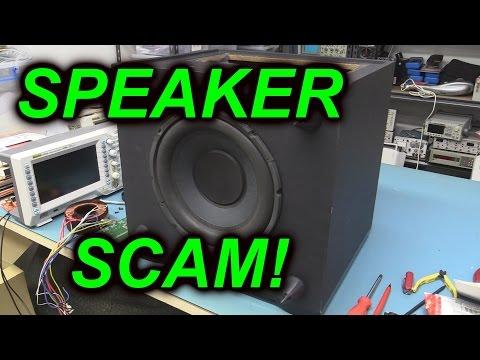 EEVblog #671 - White Van Speaker Scam Teardown - UC2DjFE7Xf11URZqWBigcVOQ