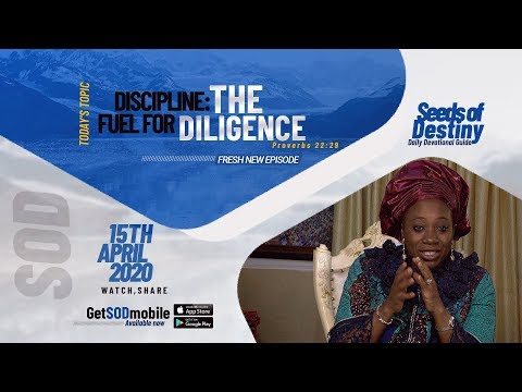Dr Becky Paul-Enenche - SEEDS OF DESTINY - WEDNESDAY , APRIL 15, 2020