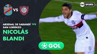 Nicolás Blandi (0-2) Arsenal vs San Lorenzo   Fecha 4 - Superliga Argentina 2019/2020