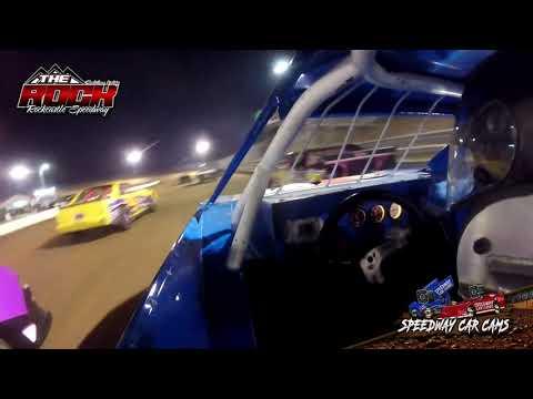 #14 Steven Harp - Mini Stock - 7-9-21 Rockcastle Speedway - In-Car Camera - dirt track racing video image