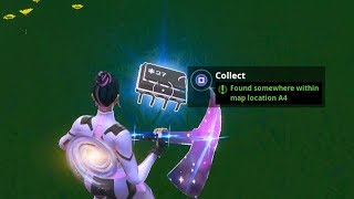 Fortbyte #27 Challenge - Found somewhere within Map Location A4 Guide - Fortnite