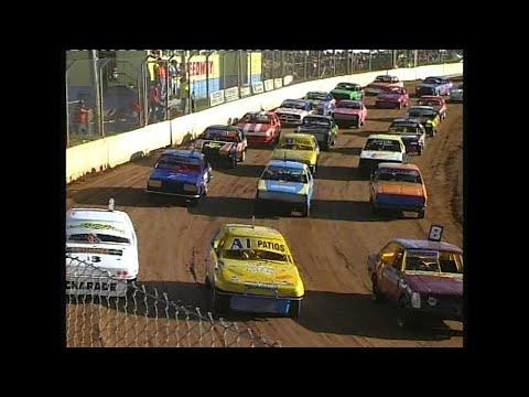 2006/07 National Junior Sedan Title (Night 1): Maryborough Speedway   29th December 2006 - dirt track racing video image