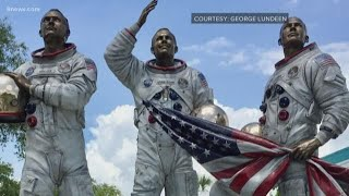 How the Apollo 11 sculpture at Kennedy Space Center was created