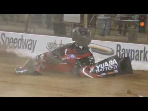 Accidents will Happen 16 - dirt track racing video image