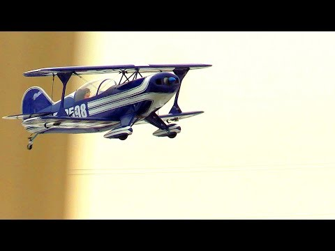 My Hobby King, Kingcraft, Pitts Special S-2B Visits Forsberg Field - April 21, 2018