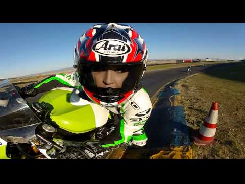 GoPro HD:  AMA Pro Road Racing - Shelina Moreda Test Ride - UCqhnX4jA0A5paNd1v-zEysw