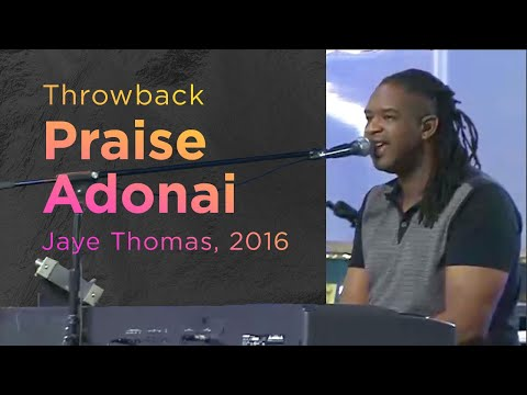 Praise Adonai -- The Prayer Room Live Throwback Moment
