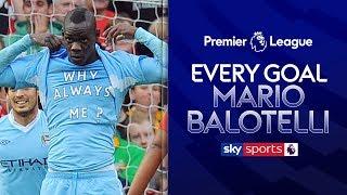 Every Goal | All 20 of Mario Balotelli's Man City Strikes