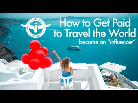 How to Get Paid to Travel the World - Become a Travel Influencer! - UCd5xLBi_QU6w7RGm5TTznyQ