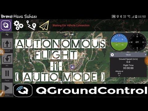 Qgroundcontrol Guided Mod & Fly Ekranı (Kumandasız uçuş) | RCKolik