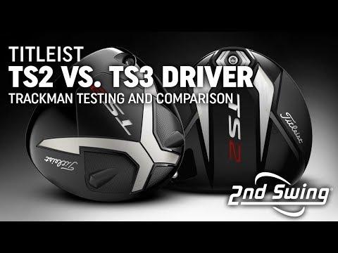Titleist TS2 v TS3 v 917 Driver Review By Golfalot   f-sport lt