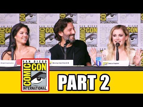 THE 100 Season 4 Comic Con Panel (Part 2) - Eliza Taylor, Lindsey Morgan, Marie Avgeropoulos - UCS5C4dC1Vc3EzgeDO-Wu3Mg