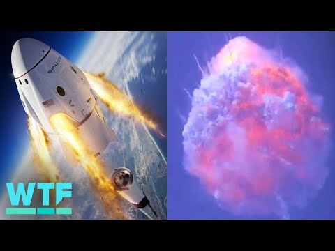 Watch SpaceX blow up a Falcon 9 rocket to test its launch abort system - UCOmcA3f_RrH6b9NmcNa4tdg