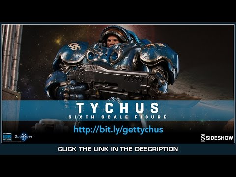 Starcraft 2 Sideshow Collectibles Tychus Findlay 1/6 Scale Video Game Action Figure Review - UCNbngWUqL2eqRw12yAwcICg