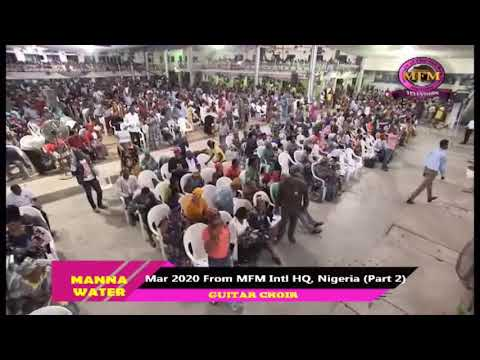 MFM SPECIAL MANNA WATER SERVICE WEDNESDAY MARCH 18TH 2020 FRENCH