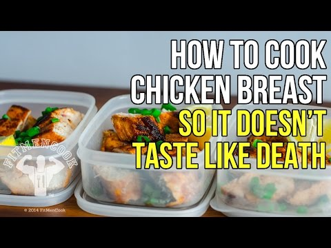 How to Cook Moist Chicken Breast So it Doesn't Taste Like Death / Como Cocinar Pechuga de Pollo - UCtaNepQqDZc0a-dfRlt7UZg